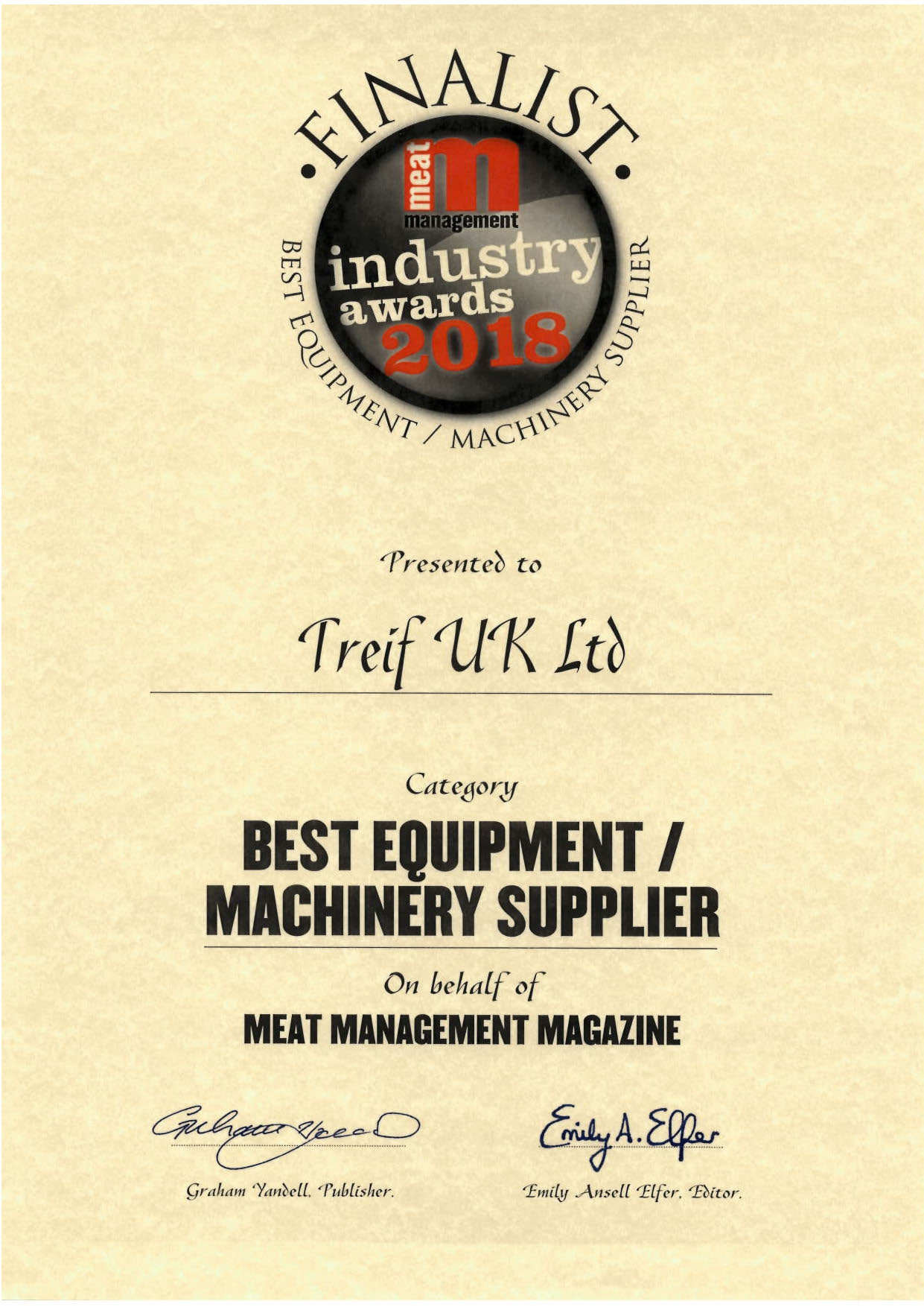 Treif UK 2018 Finalist best equipment supplier.jpg